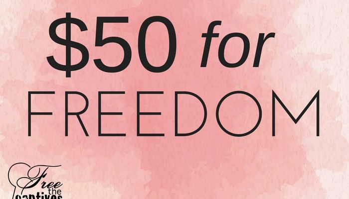 $50 for Freedom