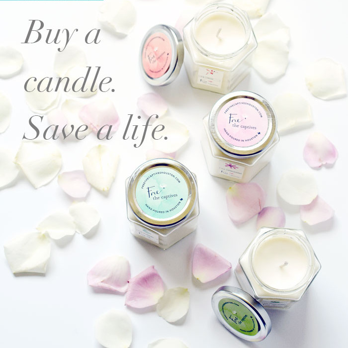Store: Candles made by Teen Trafficking Survivors